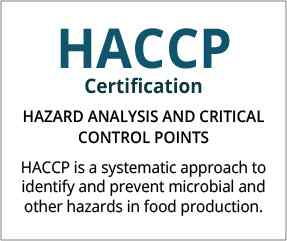 HACCP Certification UAE
