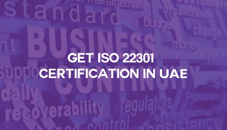 iso 22301 certification in uae